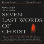 The Seven Last Words of Christ Front Cover CD