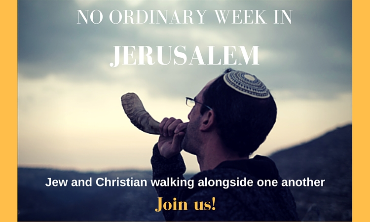 Join Ruth Fazal and Gil Pentzak for an amazing week of walking alongside one another as Jew and Christian